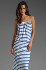 By Malene Birger Summer Tencel Stripe Eloosa Dress - Lyst