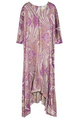 Day Birger Et Mikkelsen  Nyx Printed Silk Satin Maxi Dress - Lyst