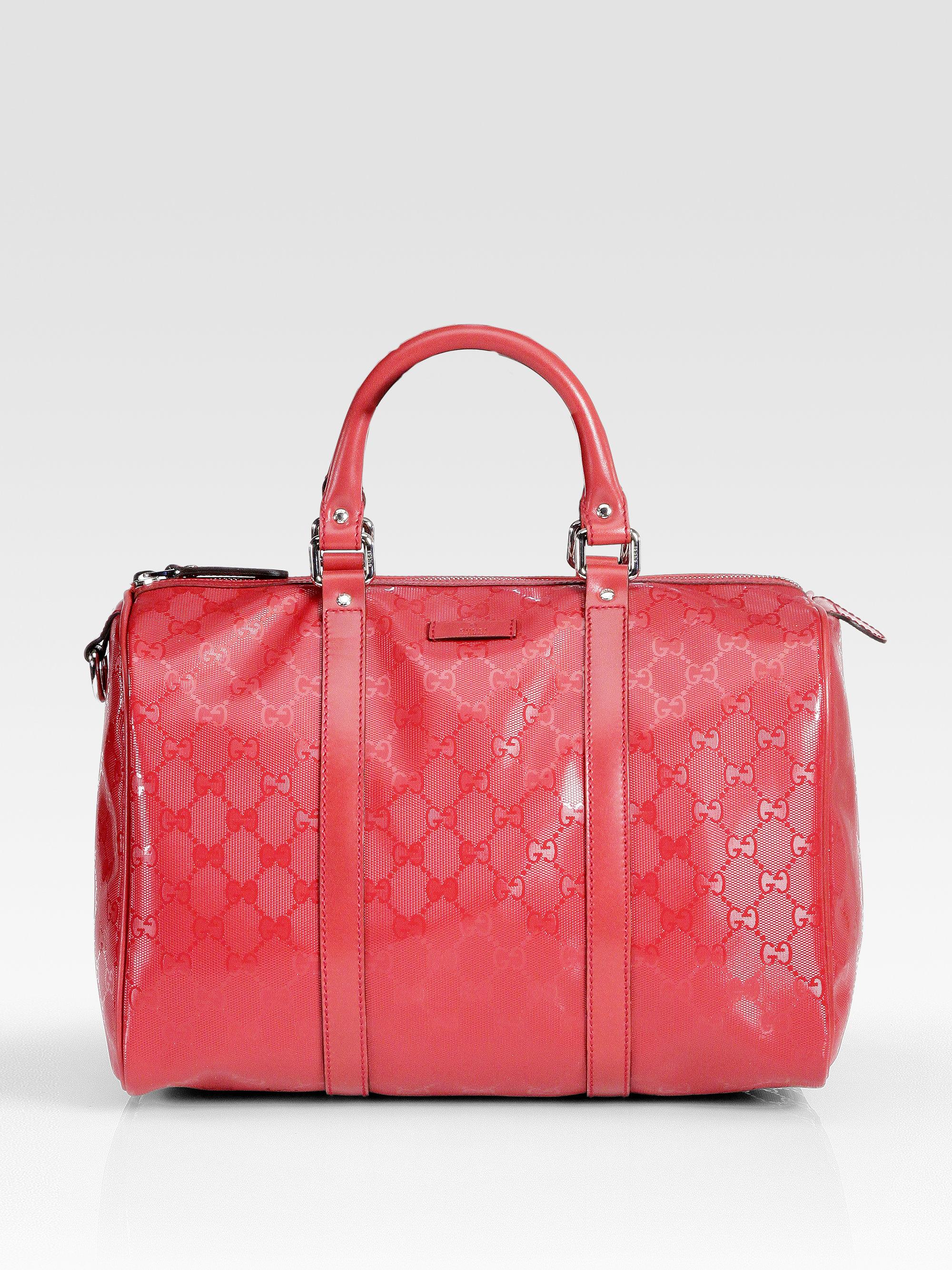 de03aa41bcee Gucci Joy Boston Medium Bag in Purple - Lyst