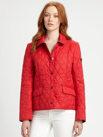 Hunter Classic Quilted Jacket - Lyst