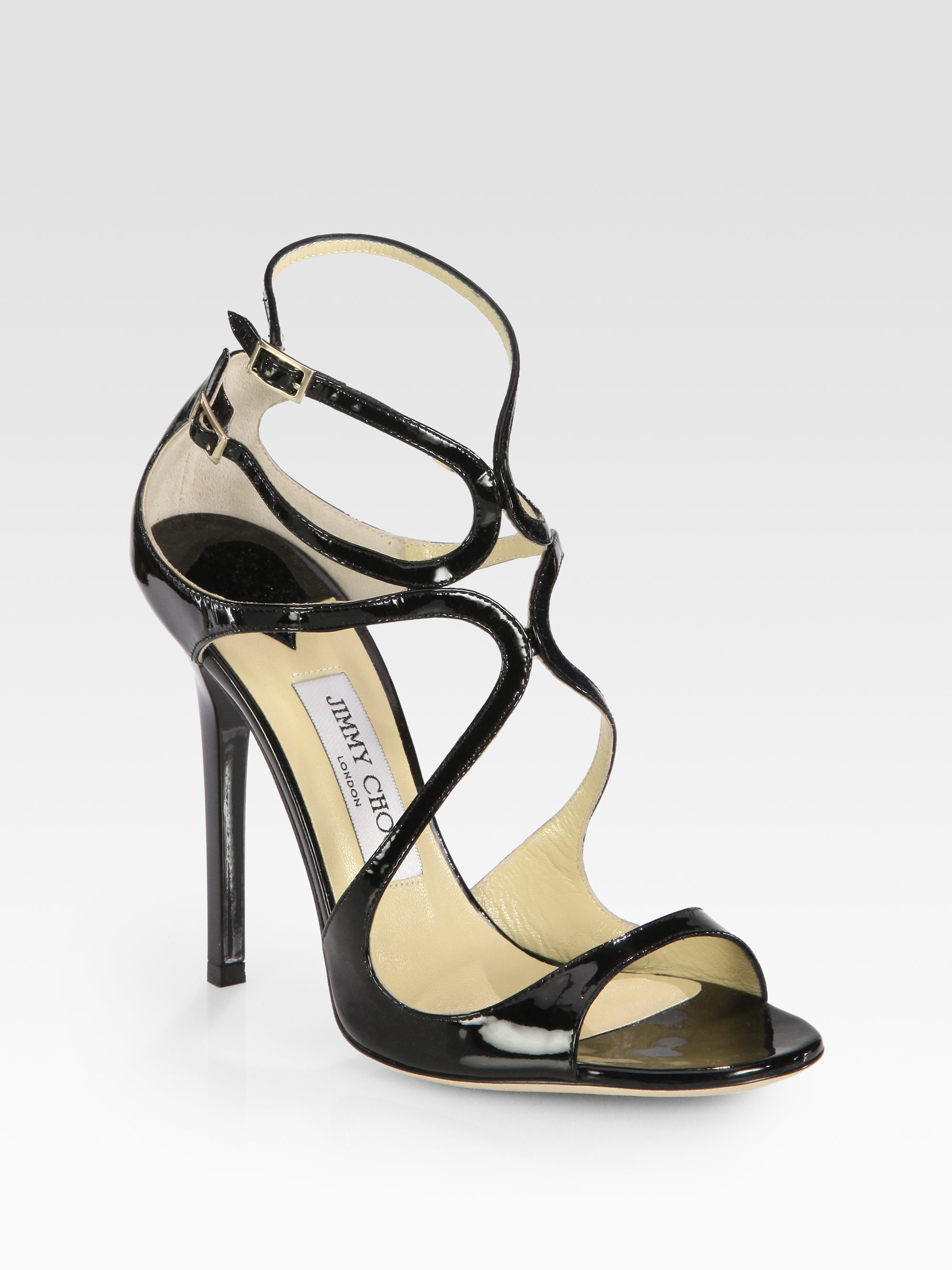 Jimmy choo Patent Leather Sandals Sale Outlet Outlet Choice Great Deals Sale Online 2idfuY