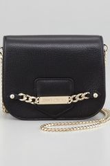 Jimmy Choo Shadow Leather Crossbody Bag - Lyst