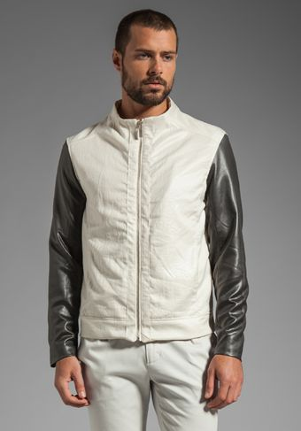 Kai Aakmann Waxed Poly Jacket - Lyst