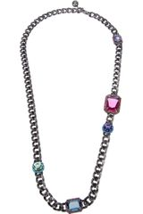 Lanvin Jewel Necklace - Lyst