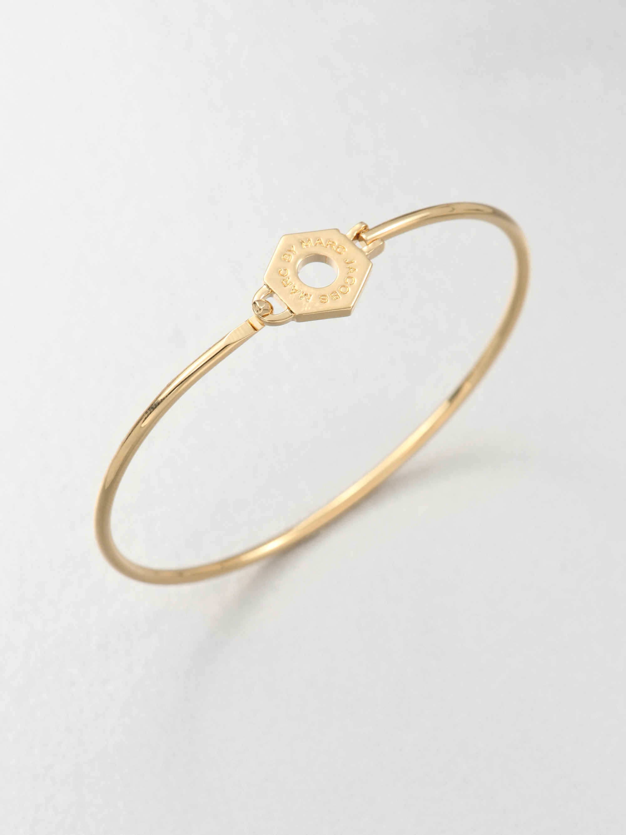 Lyst Marc By Marc Jacobs Skinny Bolt Nut Bangle Bracelet