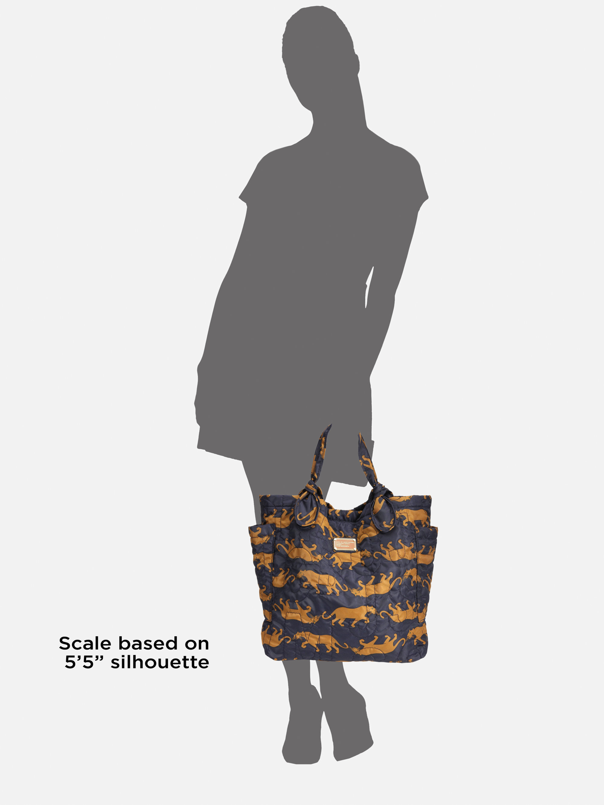 01552bde650c Lyst - Marc By Marc Jacobs Pretty Nylon Medium Tate Tote Bag in Blue