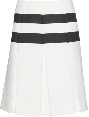 Marc Jacobs Pleated Midi Skirt - Lyst