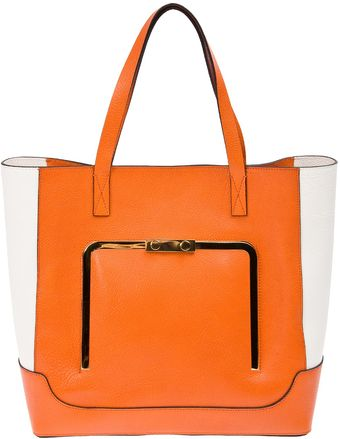Marni Colour Block Tote - Lyst