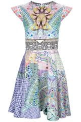 Mary Katrantzou Babelona Flared Dress - Lyst