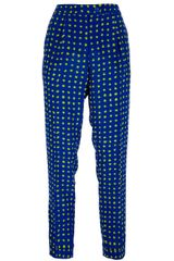 Moschino Cheap & Chic Printed Trouser - Lyst