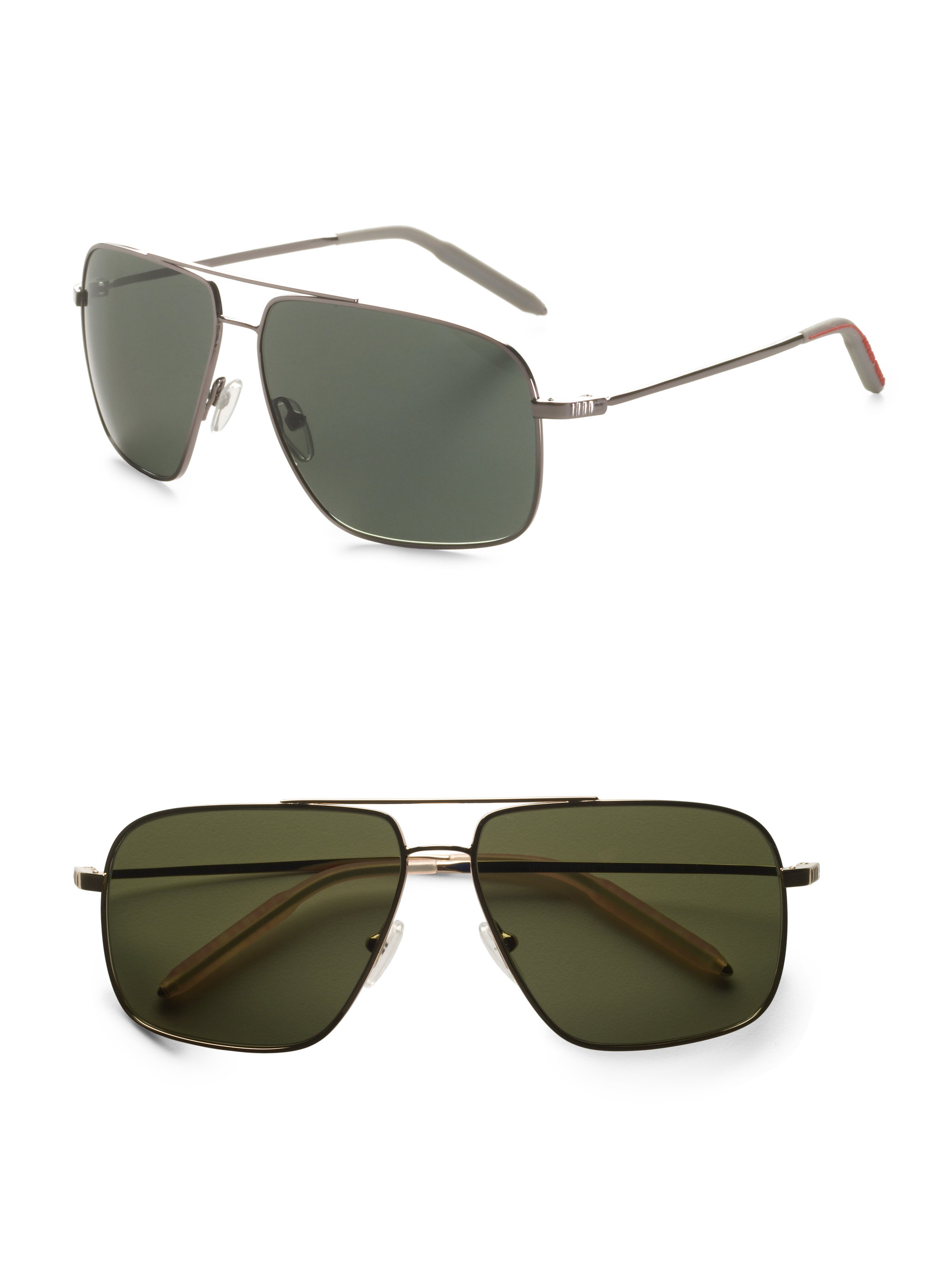 312f9b651ba0c Mosley Tribes Enforcer Aviator Sunglasses in Gray - Lyst
