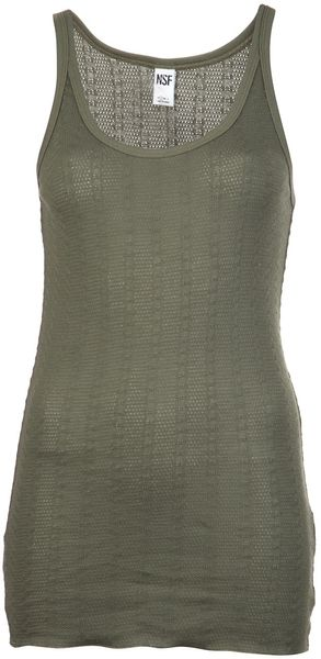 Nsf Clothing Jane Tank Top - Lyst