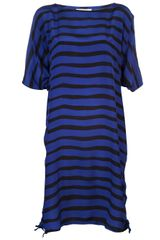 Sonia By Sonia Rykiel Bi-Color Striped Dress - Lyst