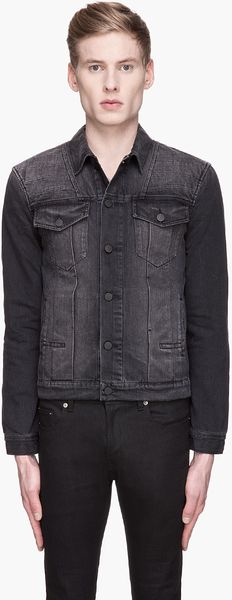 Surface To Air  Outsider Faded Denim Jacket - Lyst
