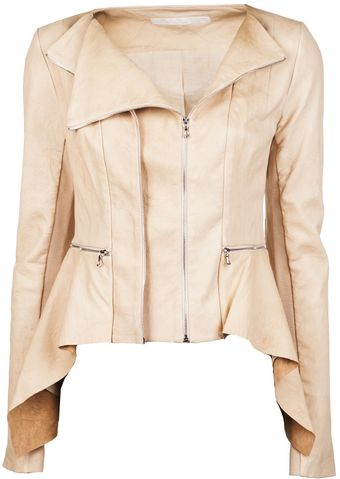 Willow Crushed Lambskin Jacket - Lyst