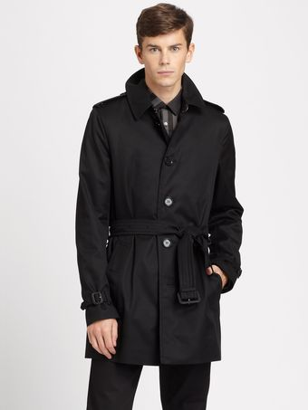 Burberry Britton Singlebreasted Trenchcoat - Lyst