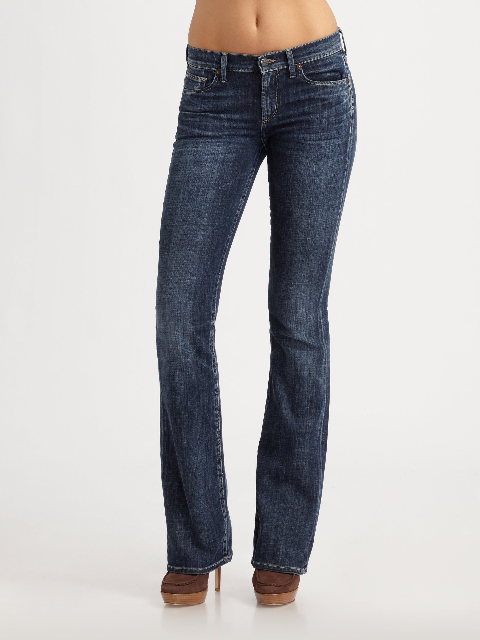 citizens of humanity kelly bootcut jeans in blue cassidy. Black Bedroom Furniture Sets. Home Design Ideas