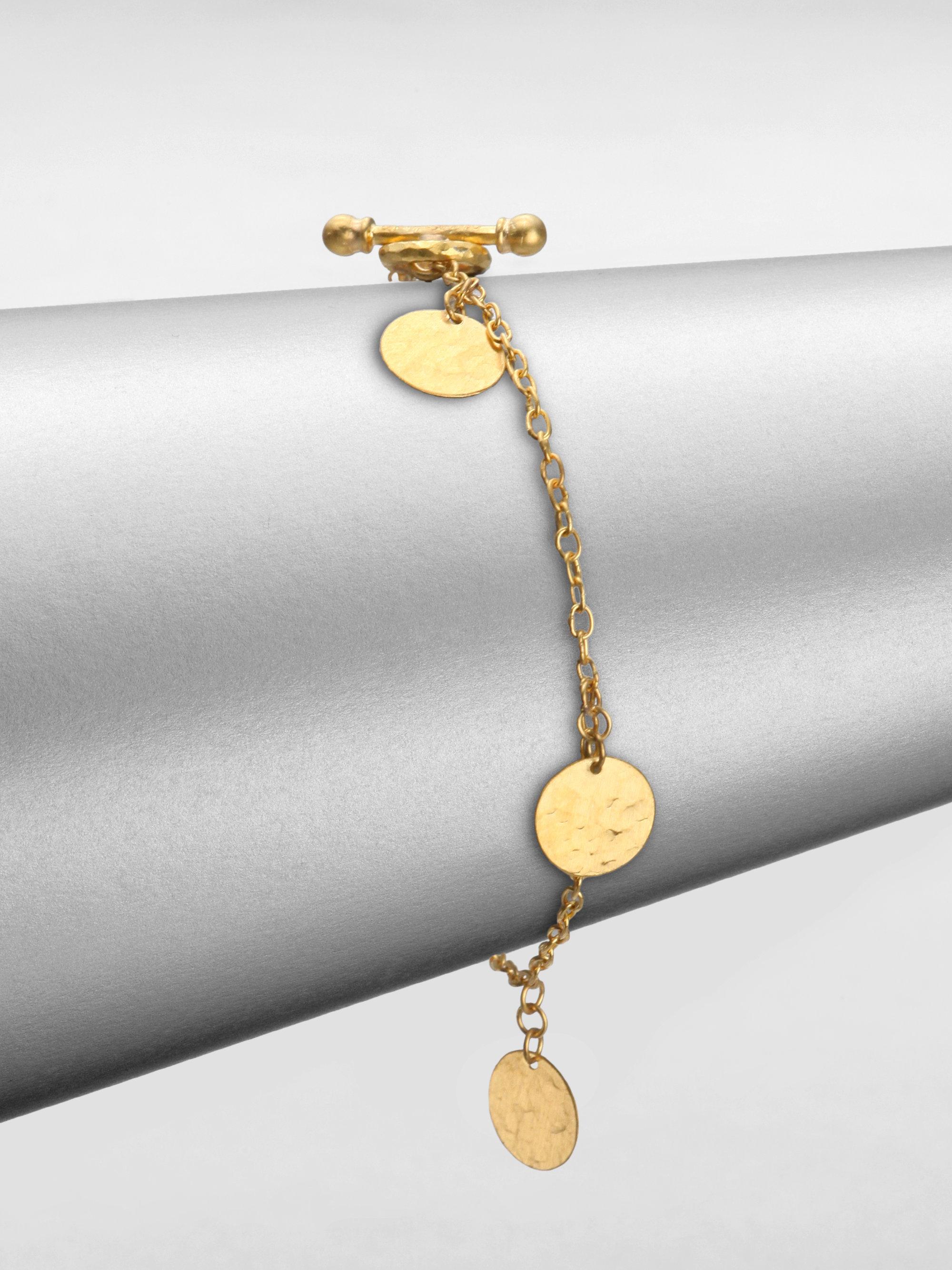 Gurhan 24k Lush Mixed Flake Chain Bracelet GByGzNmI