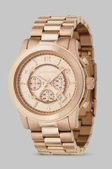 Michael Kors Chronograph Stainless Steel Bracelet Watch - Lyst