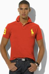 Polo Ralph Lauren Slim Fit Big Pony Polo - Lyst
