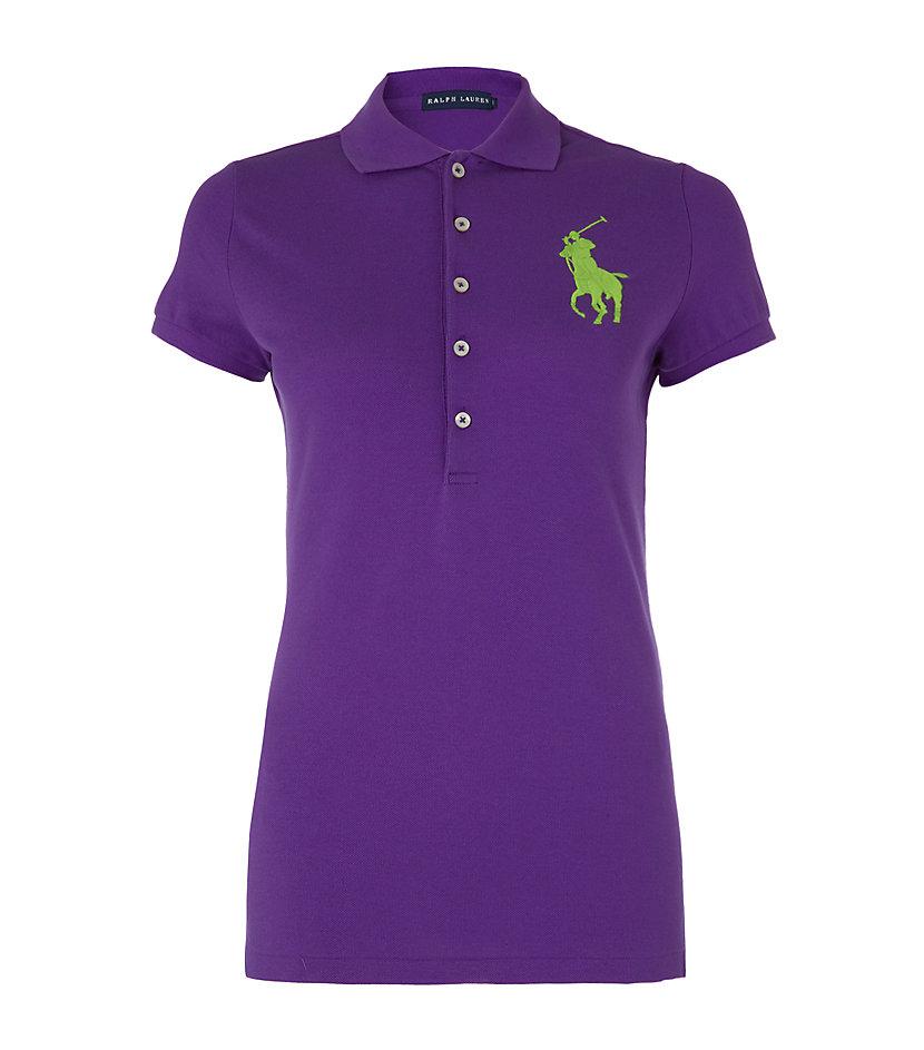 Ralph lauren custom fit small pony polo shirts polo ralph for Black ralph lauren shirt purple horse