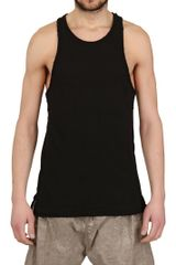 Silent By Damir Doma Washed Rib Jersey Tank Top - Lyst