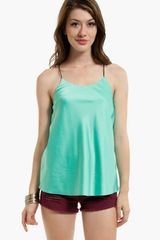 Tobi String Time Tank - Lyst
