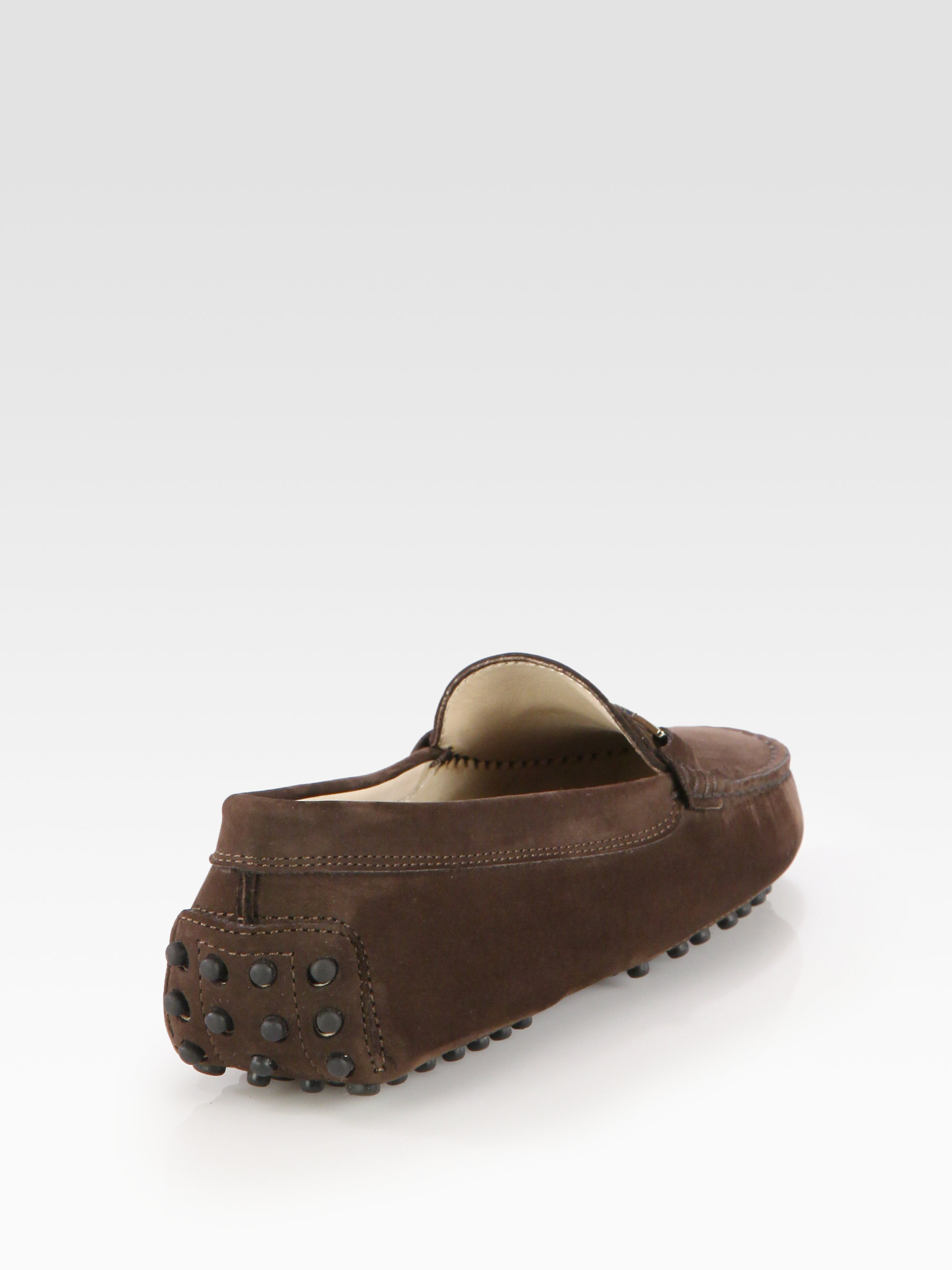 TOD's Suede Moccasin cheap sale low shipping fee sale choice free shipping amazon aL5CcBXBnf