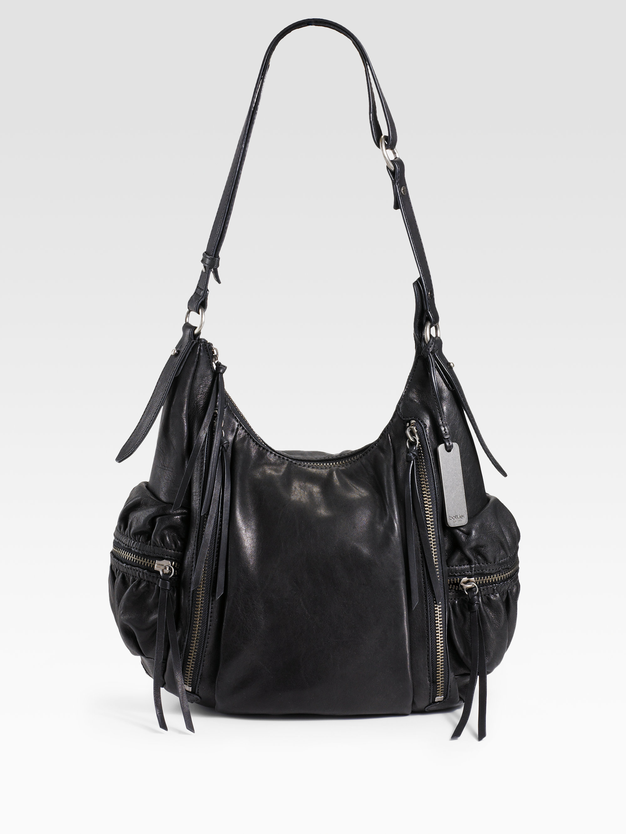 Botkier Aiden Crossbody Hobo in Black | Lyst