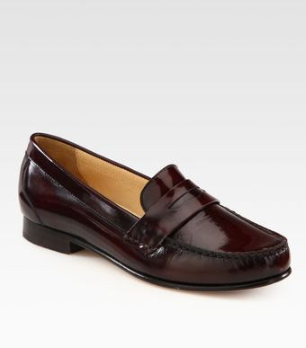 Cole Haan Monroe Leather Loafers - Lyst