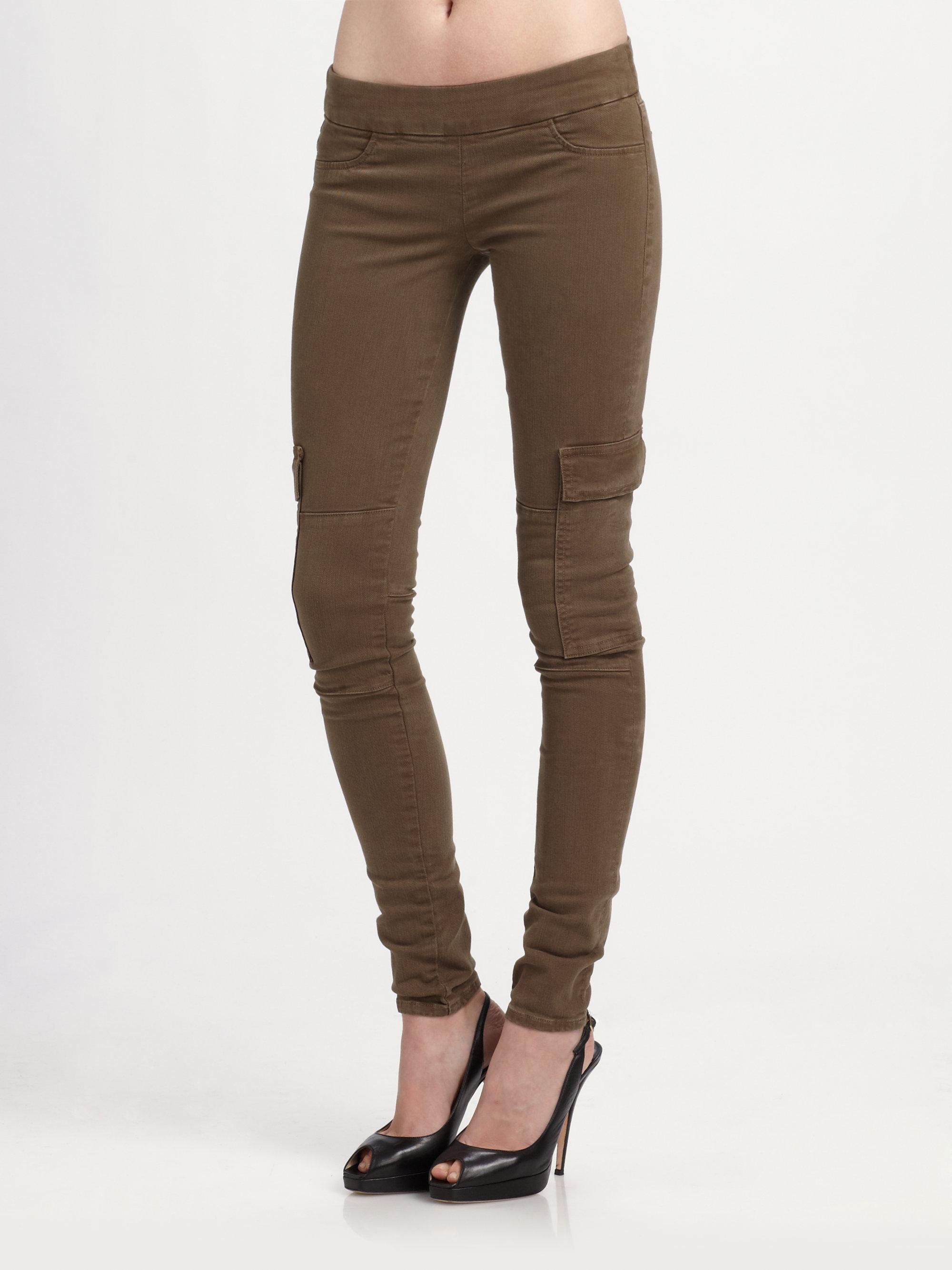 Hudson jeans Cargo Skinny Pants in Green | Lyst