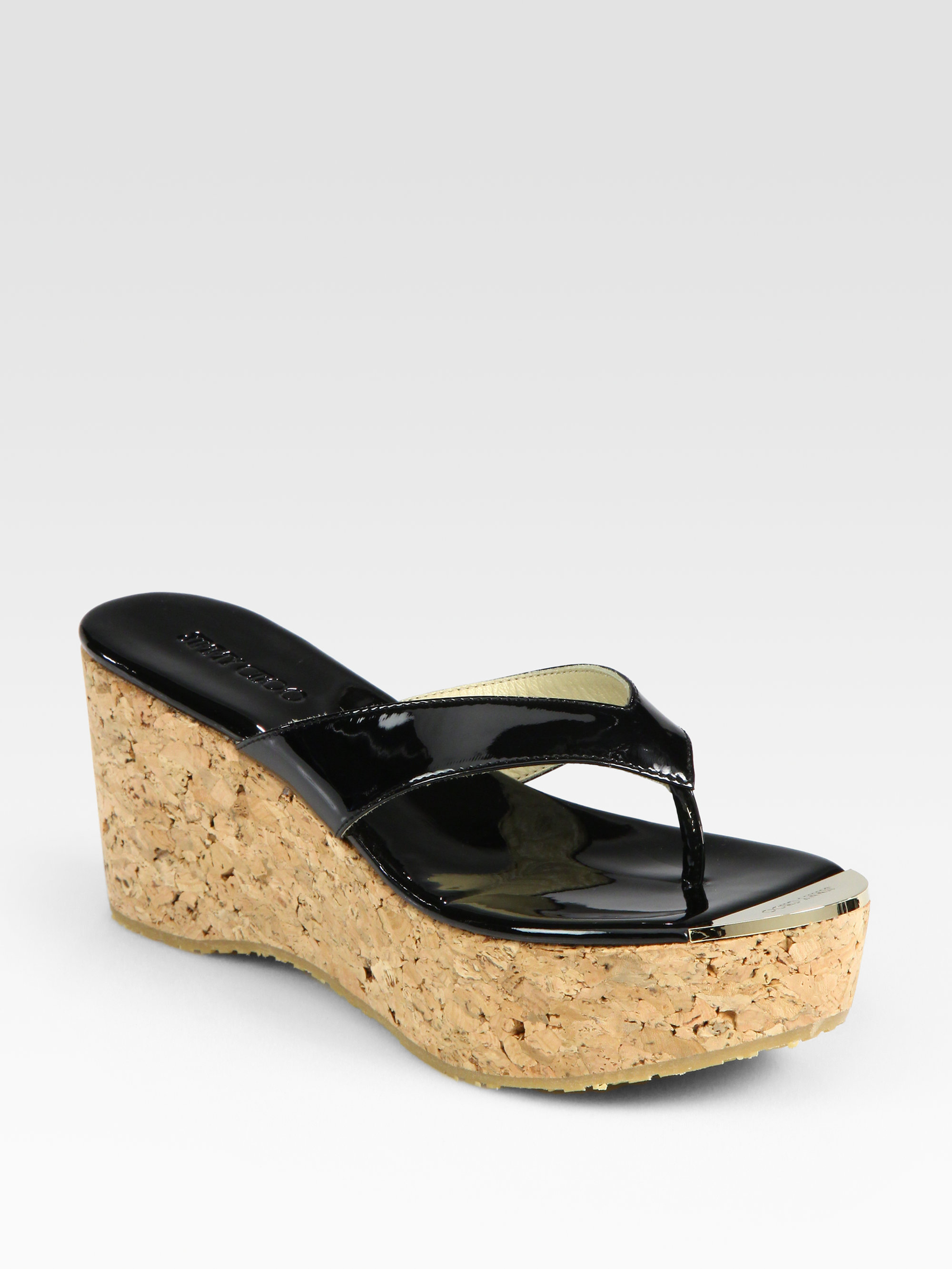 buy cheap popular discount with mastercard Jimmy Choo Platform Thong Sandals very cheap price free shipping 2015 new jHip3NX