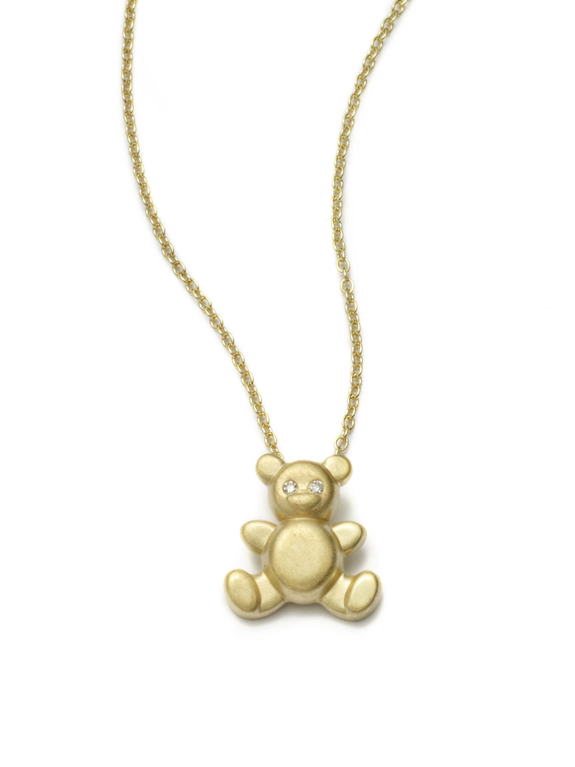 necklace products spinningdaisy bear teddy cuddle pendant crystal