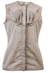 Lanvin Vault Sleeveless Shirt - Lyst