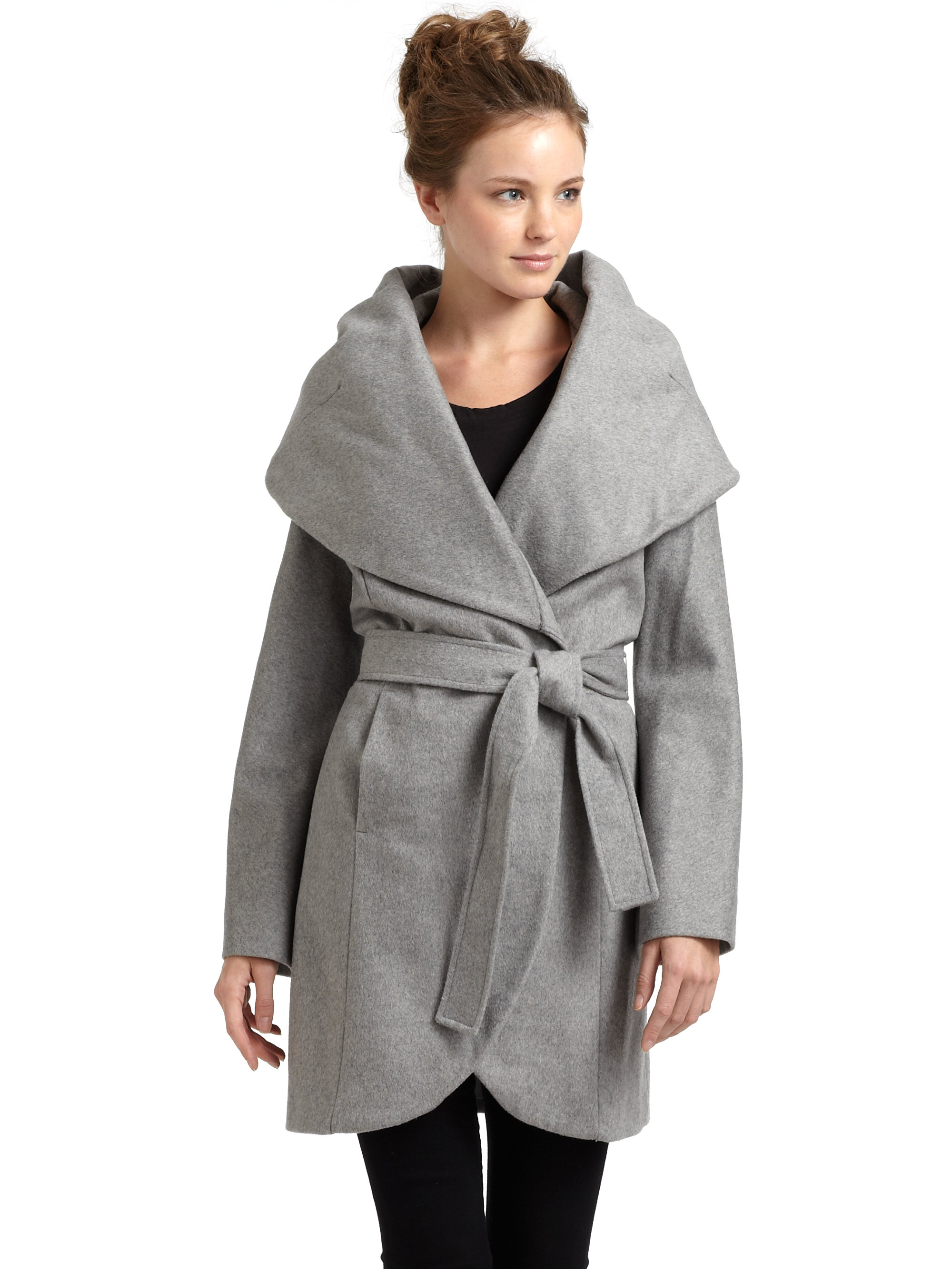 Shop the latest styles of Womens Wool & Wool Blend Coats at Macys. Check out our designer collection of chic coats including peacoats, trench coats, puffer coats and more! Macy's Presents: The Edit- A curated mix of fashion and inspiration Check It Out. I.N.C. Textured Wrap Coat.