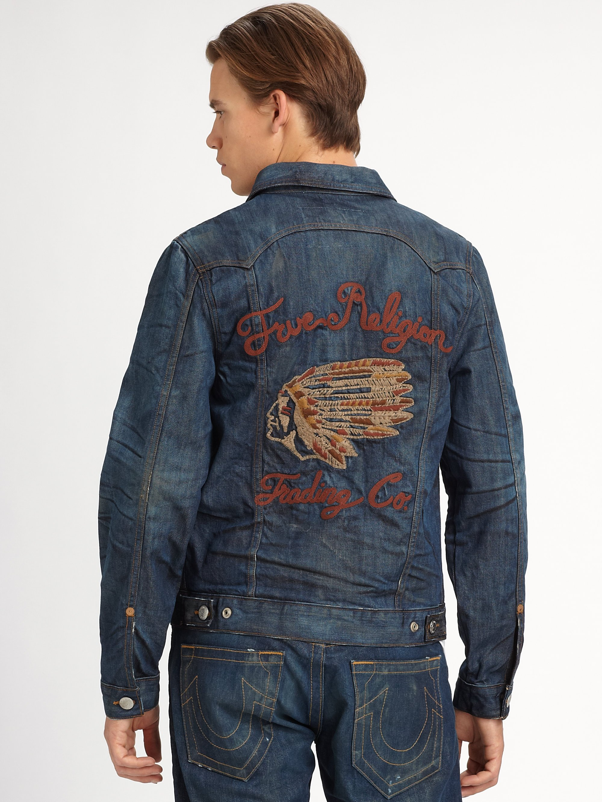 True Religion Jimmy Denim Jacket In Blue For Men Lyst