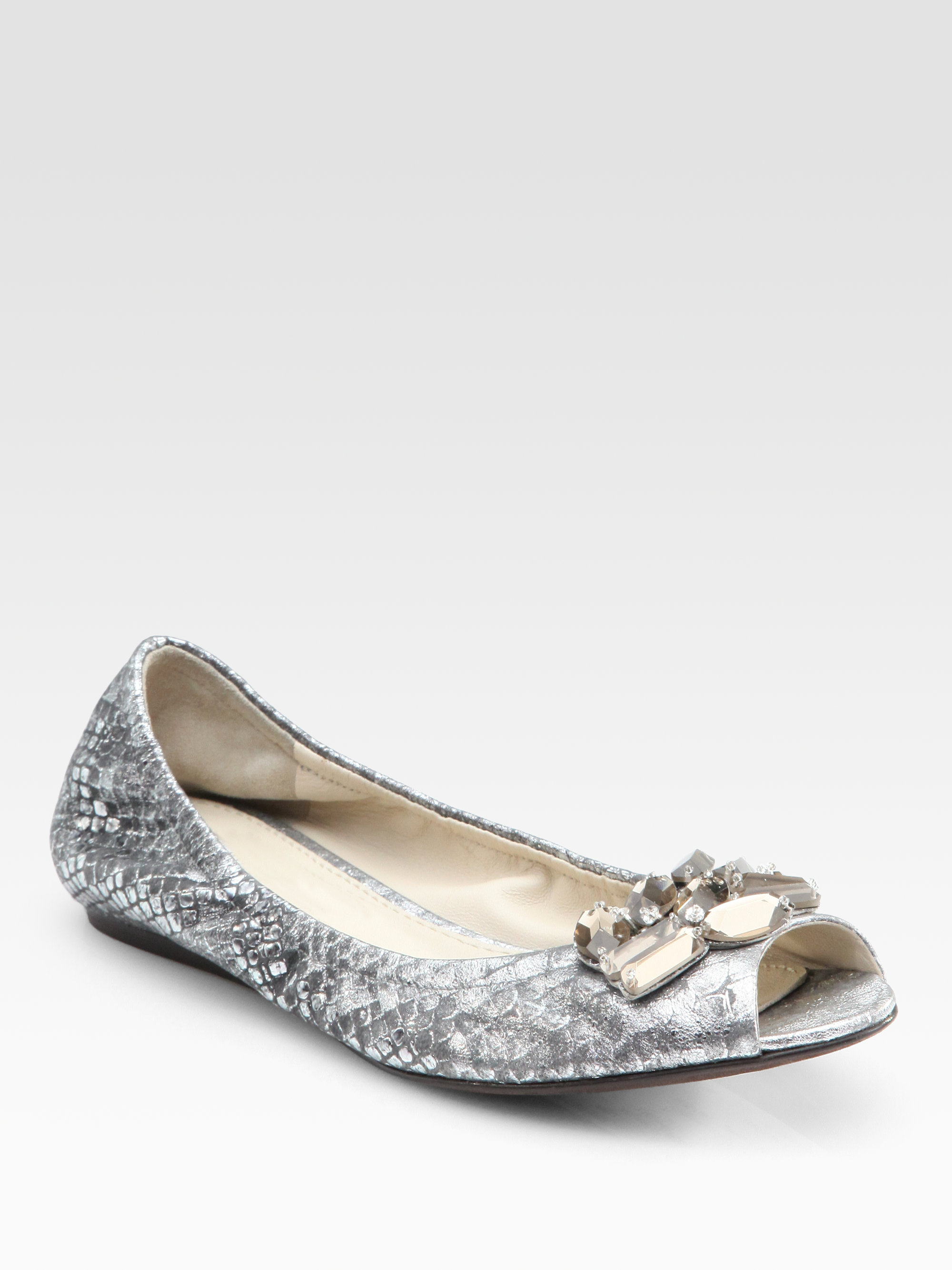 Vera Wang Wedding Shoes Ballet Flats