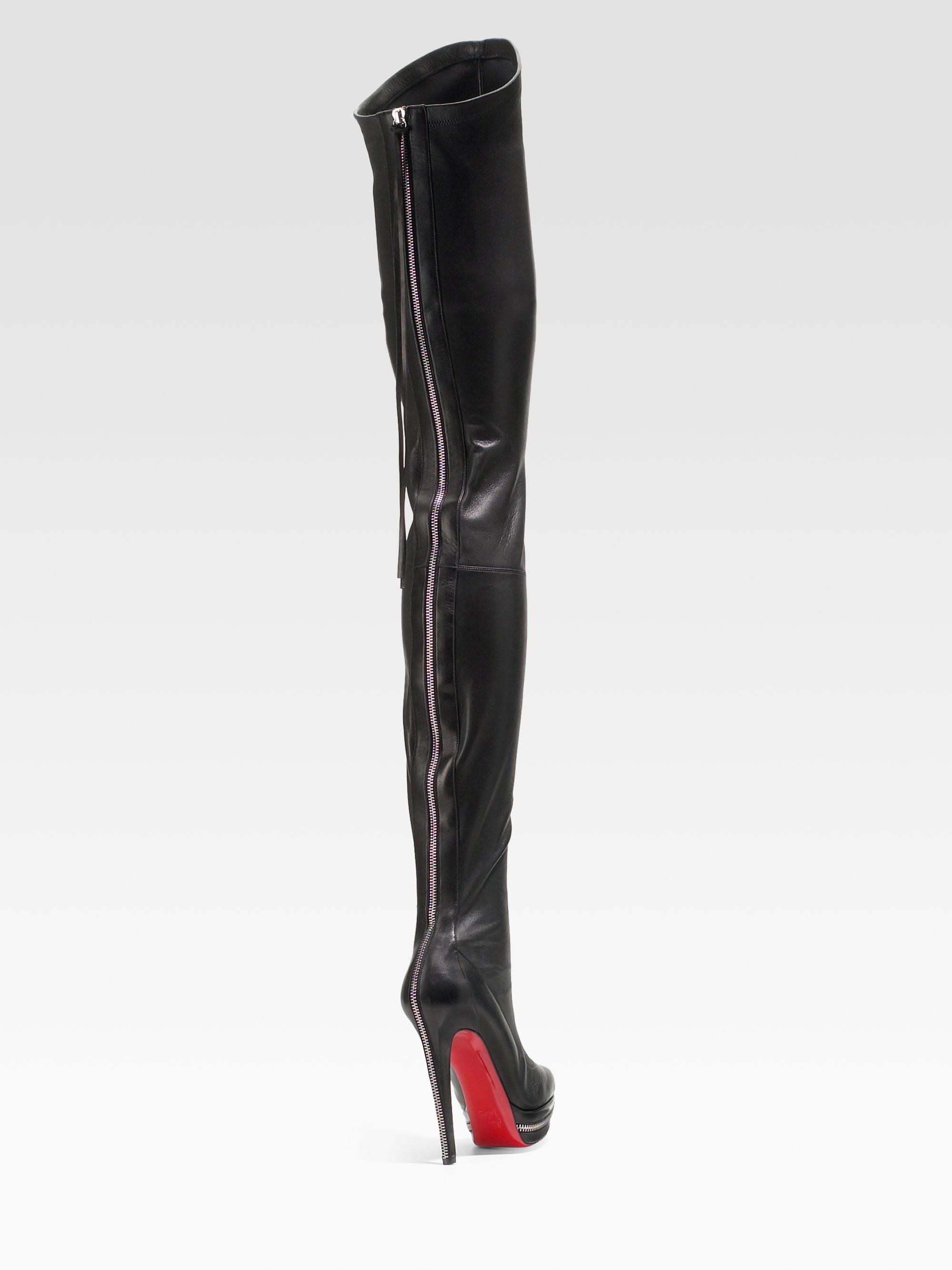 louboutin boots replica uk