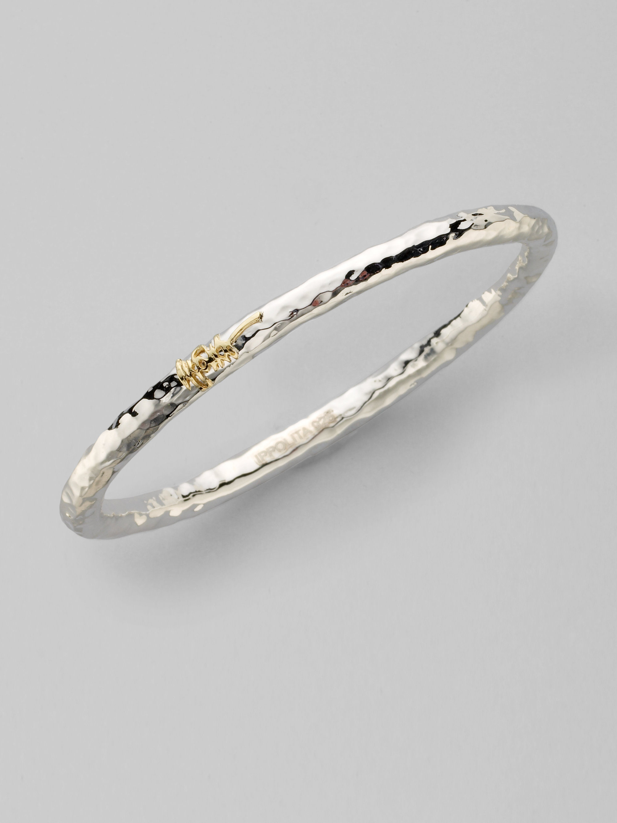 rose and bangle in sterling love bracelets ed bangles silver bracelet petite gold knot levin