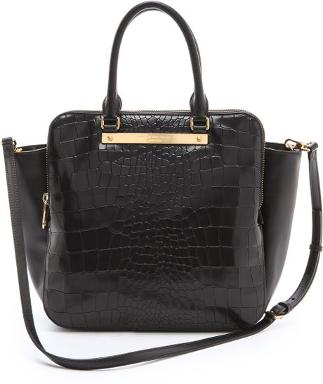 Marc By Marc Jacobs Goodbye Columbus Croc Bentley Tote In