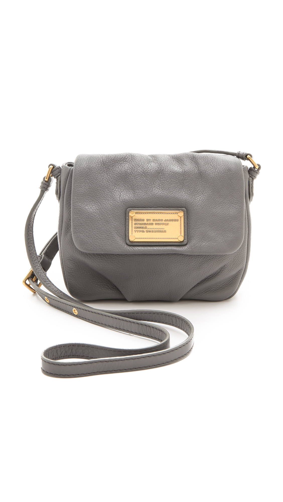 087a436c501 Marc By Marc Jacobs Classic Q Isabelle Bag in Gray - Lyst
