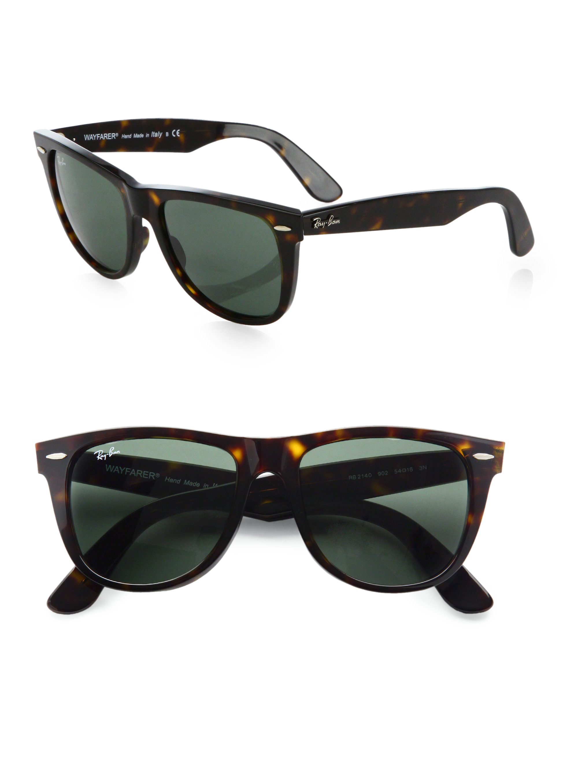 ray ban classic wayfarer black  Ray-ban Classic Wayfarer Sunglasses in Black