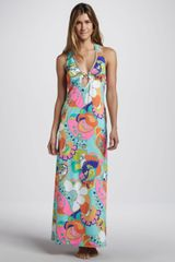 Trina Turk Sea Cove Cover-Up Maxi Dress - Lyst