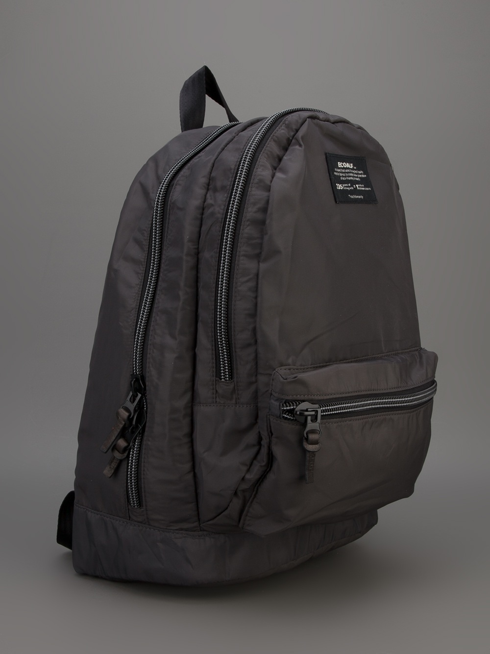Ecoalf Munich Double Backpack Organizer In Gray For Men Lyst