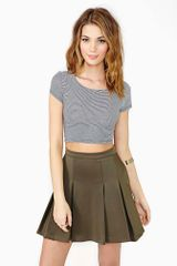 Nasty Gal Sweet Stripe Crop Top - Lyst