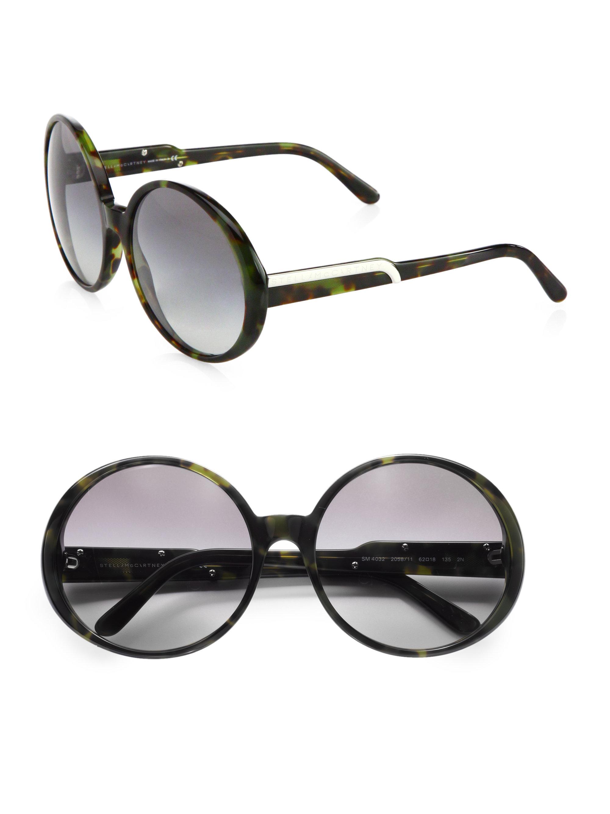 Stella McCartney Eyewear Round oversized sunglasses inTI9uShw