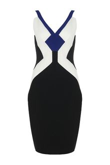 Antonio Berardi Mesh Panel Dress - Lyst