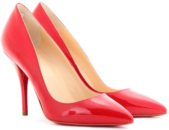 Christian Louboutin Batignolles 100 Patent Leather Pumps - Lyst