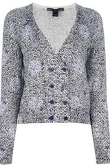 Marc By Marc Jacobs Printed Cardigan - Lyst