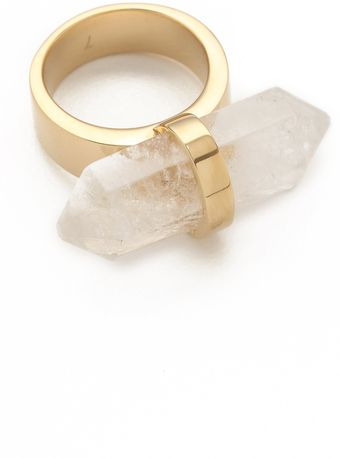 Michael Kors Seaside Luxe Geode Ring - Lyst